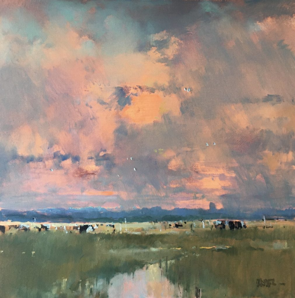 Salthouse._Sunset_and_cows._47h_x_47w_o_a._£1250.-min (1)