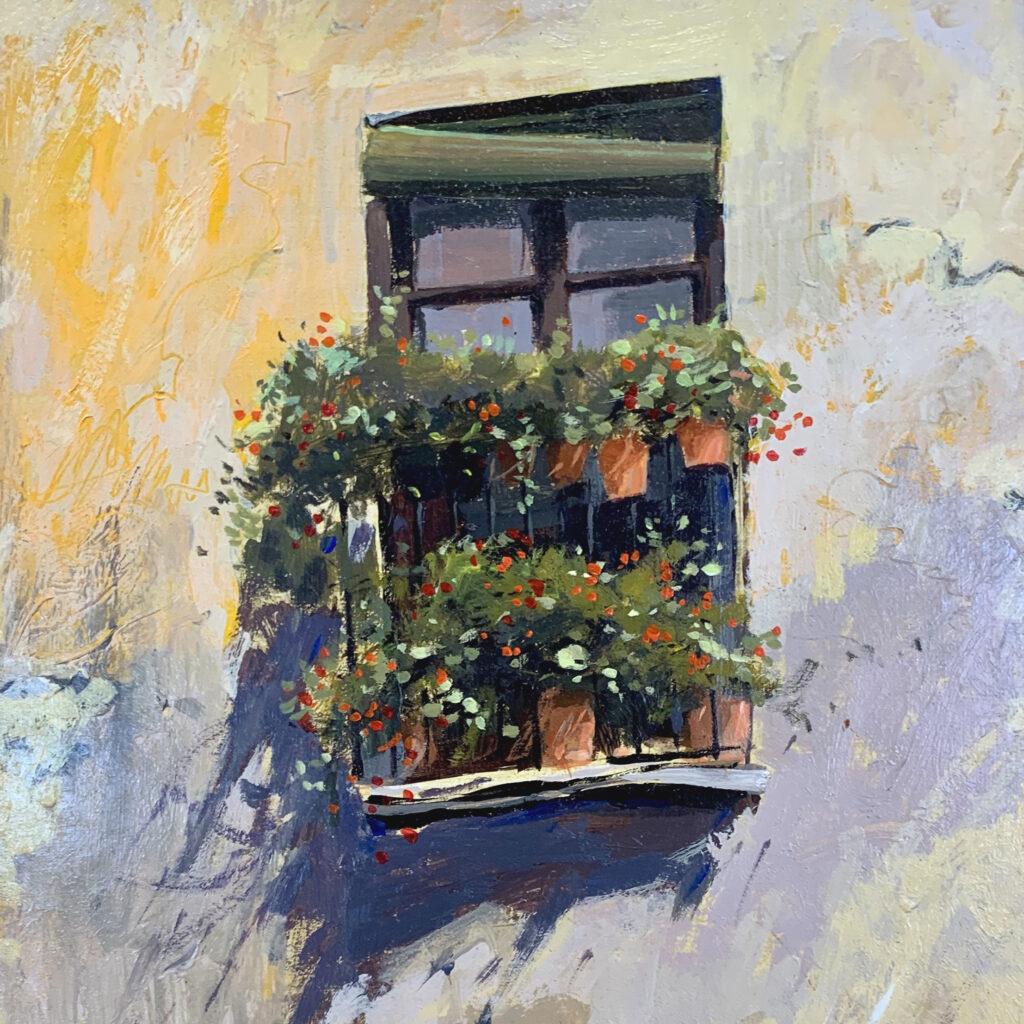 window-box garden, france